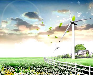 Wind power plants are divided into small and bi